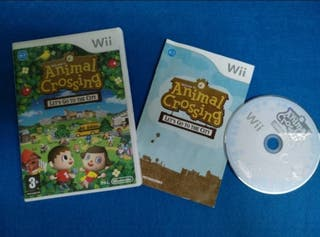 Wii - Animal Crossing let's go to the city