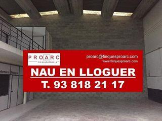 Nave en alquiler en Pol. industrial Domenys en Vilafranca del Penedès