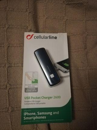USB Pocket Charger 2600