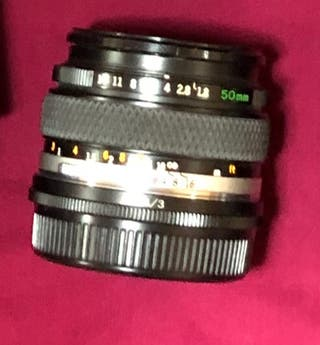 Objetivo Olympus om 50 mm 1.8