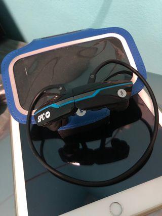 Auriculares Bluetooth + brazalete