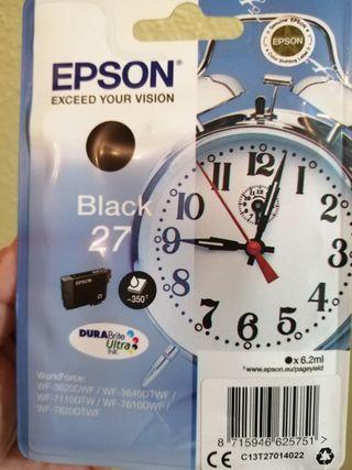 cartucho de tinta Epson Black 27