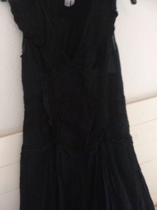 vestido sin uso zara ideal Halloween