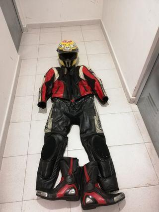 equipacion completa moto