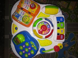 jueguetes de bebe casi sin uso