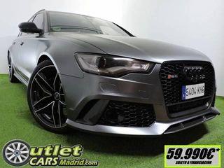 Audi RS6 Avant 4.0 TFSI Quattro Tiptronic 412 kW (560 CV)