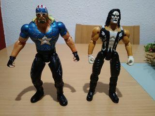 Figuras WCW 1999 Marvel Pressing.