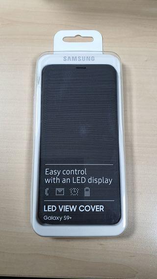 carcasa samsung s9+ led view cover