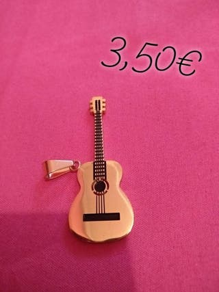 colgante de guitarra