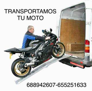 Transporte de motocicletas y ciclomotores