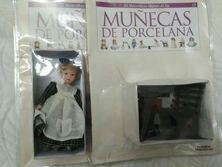 Muñeca porcelana Años 90. NUEVA