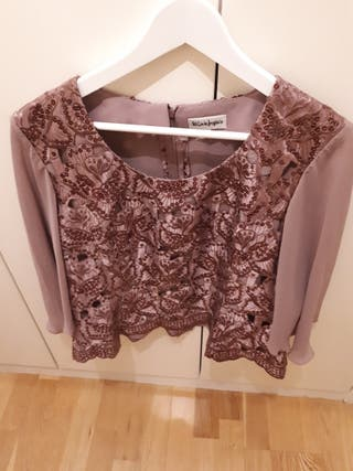 Cuerpo blusa mujer