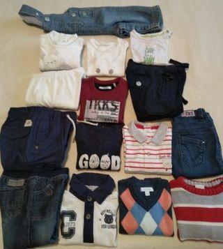 Lote ropa talla desde los 3 hasta los 6 meses