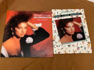 GLORIA ESTEFAN LET IT LOOSE Disco vinilo LP + doss