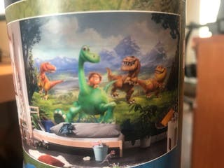 Papel pintado Disney Good Dinosaur