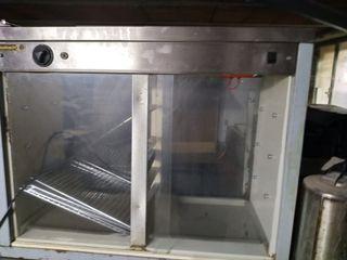 armario calienta platos