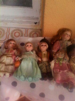 muñecas de porcelana antiguas