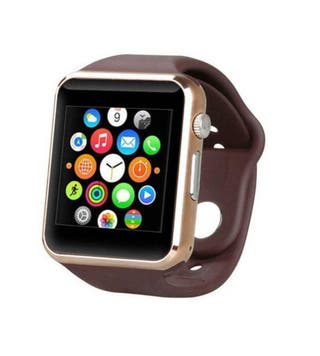 Smartwatch GT08 Reloj Teléfono Inteligente Dorado