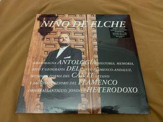 NIÑO DE ELCHE ANTOLOGÍA DEL Disco vinilo 3x LP