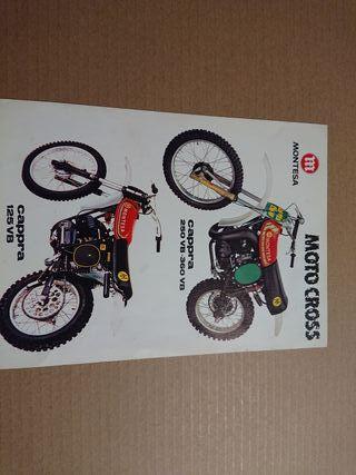 catálogo técnico original MONTESA CAPPRA VB 1978