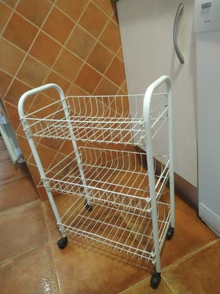 Carro/Cesto/verdulero frutero ruedas