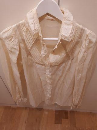 Blusa con bordado mujer