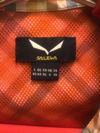Camisa salewa mujer xs