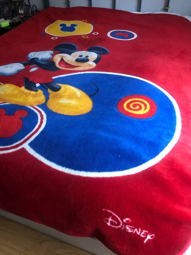 Manta Disney Mickey Mouse