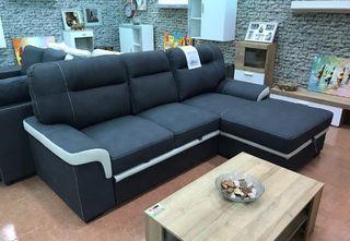 Sofa chaise-longue con cama (FARRAR)