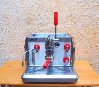 Cafetera a gas / electricidad vintage Gaggia
