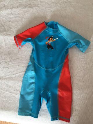 Neopreno/bañador niño 2 años