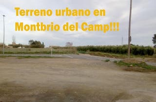 Terreno en venta en Montbrió del Camp