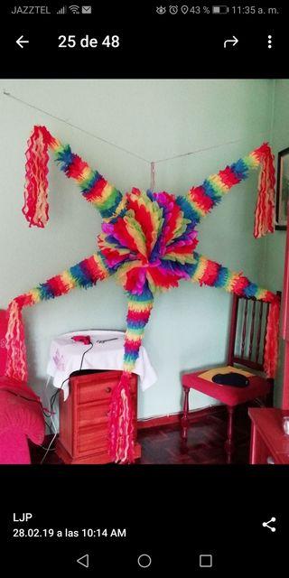 Piñatas Mexicanas por pedido