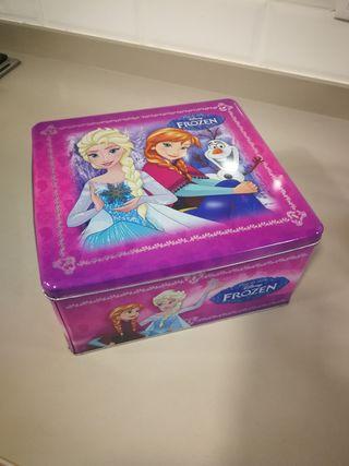 caja lata Frozen