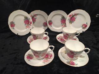 Juego de té porcelana fina inglesa
