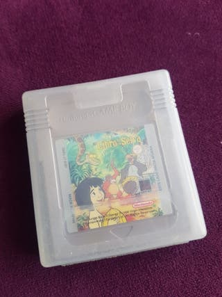 juego Game Boy libro de la selva