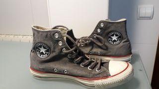 zapatillas CONVERSE grises altas ALL STAR 41