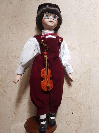 Muñeco porcelana antiguo