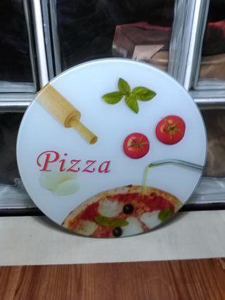 Plato para servir pizza
