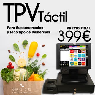 TPV Completo software integrado.