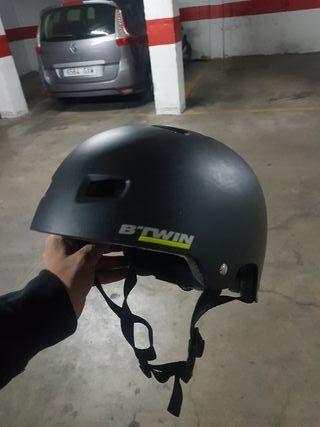 casco de bici hombre