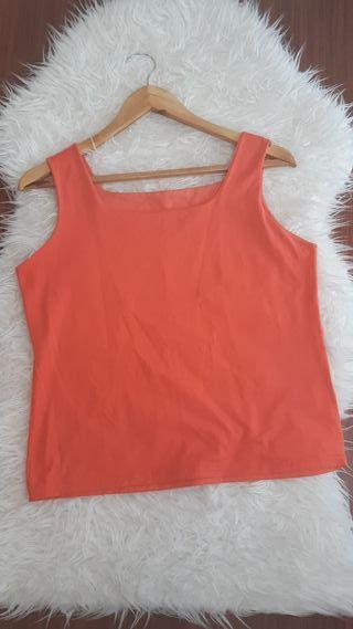 blusa básica mujer