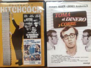 4 peliculas en dvd