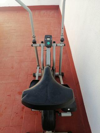 bicicleta estática y elictica