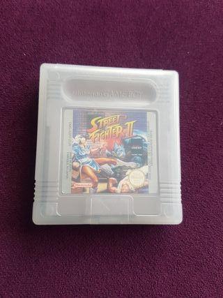 juego Game Boy Street Fighter 2