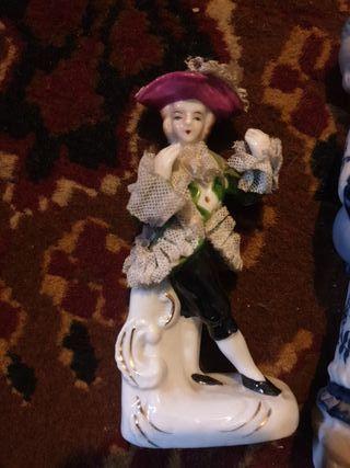 Lote muñecos de porcelana