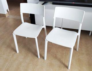 Silla IKEA JANINGE (2 unidades)