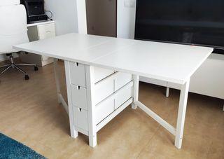 Mesa plegable alas abatibles IKEA NORDEN