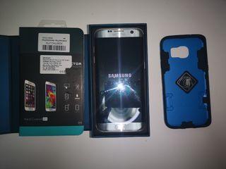Samsung Galaxy S7 edge silver platinum