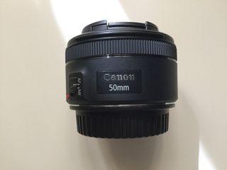 Canon EF 50mm f/1.8 STM, ideal para grabar videos.